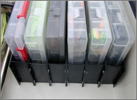 Bass Boat Organization Ideas by Boat Tackle Organizer System Storage Solutions