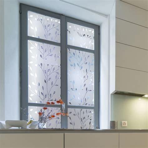 stickers pour fenetre cuisine sticker occultant pour vitre et fenêtre branches design