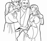 Coloring Jesus Clipart Library Printable Clip Them Popular sketch template