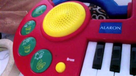 Alaron My Song Maker toy keyboard demo songs   YouTube