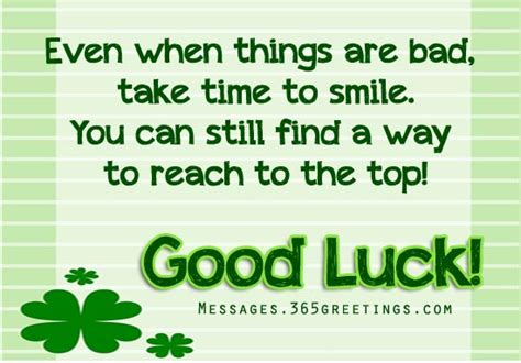 good luck messages wishes  good luck quotes