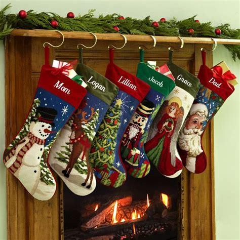 personalized needlepoint christmas stocking walmartcom