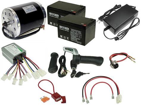 Electric Motor Kit by 24 Volt 500 Watt Electric Scooter Kit Kit 130