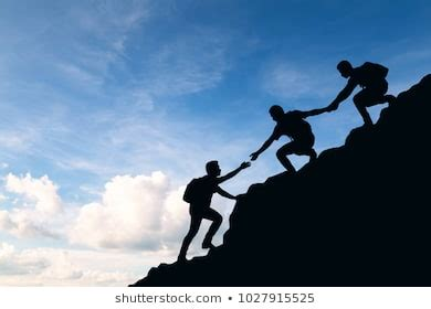 Climbers Helping Images Stock Photos Vectors Shutterstock