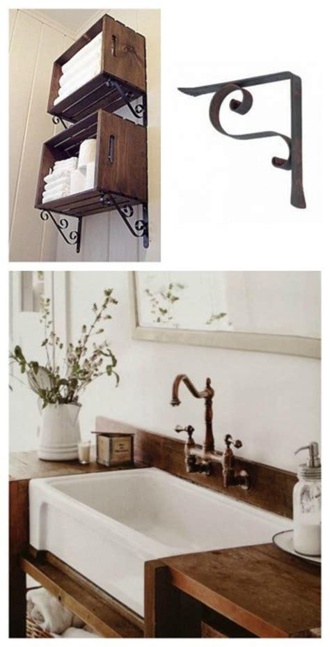 mensole in bagno reggimensole in ferro vecchio articoli per la casa