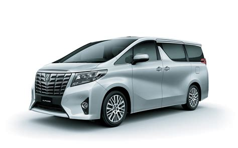 toyota alphard hybrid mpv hd wallpaper