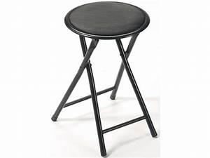 Tabouret Bar Pliant : tabouret pliant folk coloris noir vente de chaise de ~ Melissatoandfro.com Idées de Décoration