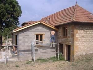 Photos Agrandissement Maison : agrandissement de maison de village lachassagne construction et r novation de maison la ~ Melissatoandfro.com Idées de Décoration