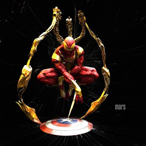 Is This Really Spiderman's New Look In Civil War ? Wb