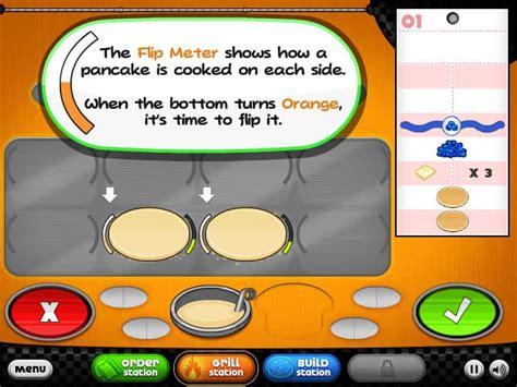 jeux de cuisine papa louie pancakeria papa 39 s pancakeria jeu funnygames fr