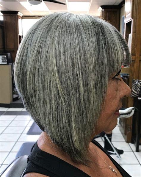 50 Gray Hair Styles Trending in 2020 in 2020 Hair styles