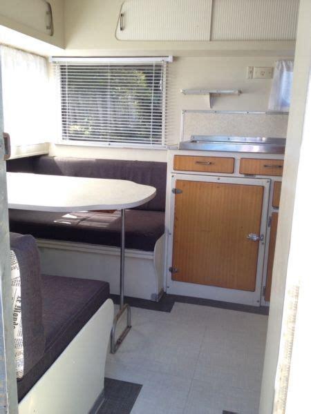 retro vintage  vacationer caravan restored