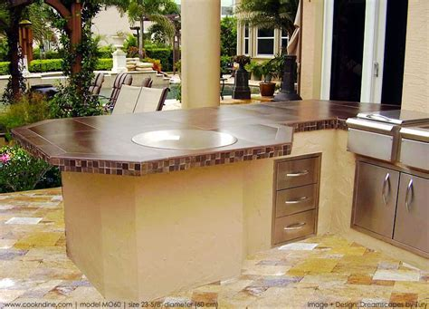 Outdoor Teppanyaki Kitchen   Hibachi Grilling Islands