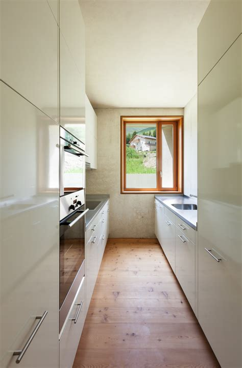 galley kitchen ideas makeovers pictures