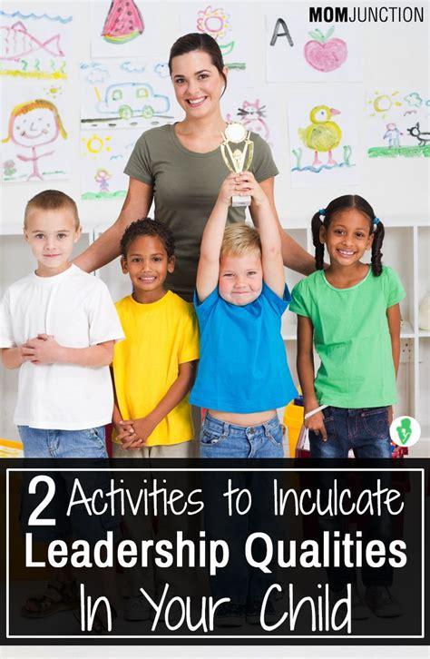 leadership activities  kids mold  child