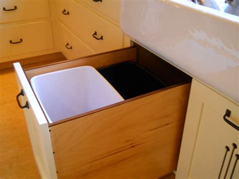 best kitchen sink cabinet pull out trash can with