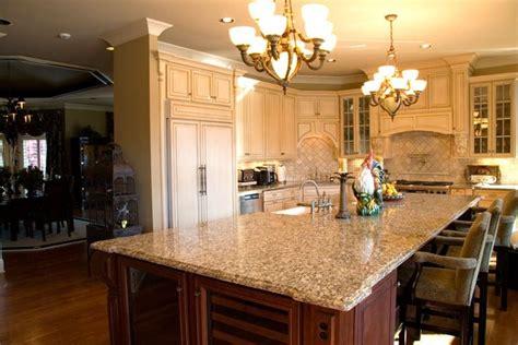 kitchen cabinets santa ca santa cecilia countertop with antique white cabinets and 8138