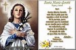 Vidas Santas: Estampita y Oración a Santa María Goretti