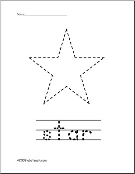 10 Best Images Of Star Shape Worksheets For Preschool  Star Shape Tracing Worksheet, Free