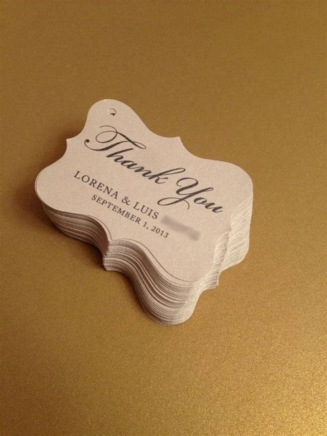 wedding favor tags party favor tags