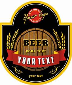 beer logo vector labels With beer logo creator