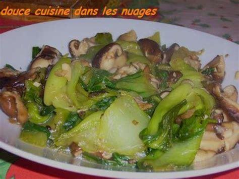 les blogs de cuisine les meilleures recettes de pak choï et chignons