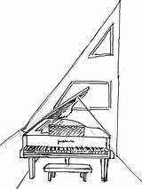 Drawing Harpsichord Maltese Getdrawings sketch template