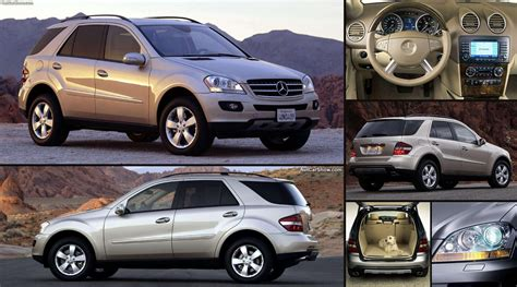 mercedes benz ml  pictures information specs