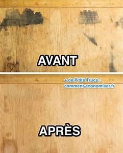 Enlever Tache Matelas Bicarbonate : comment enlever une tache sur un meuble en bois avec du bicarbonate ~ Melissatoandfro.com Idées de Décoration