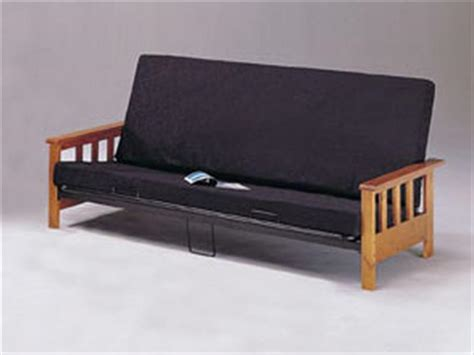 mission style wood futon frame list price 299 marjen