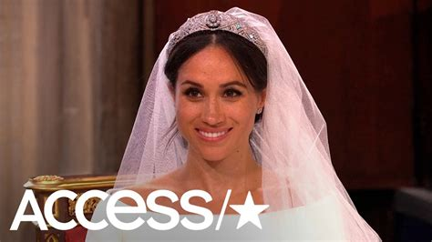 Princess Diana's Wedding Dress Designer Reviews Meghan