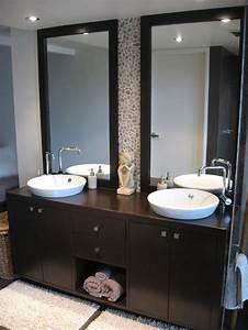 Bathroom: Modern Bathroom Design Ideas With Dark Wood