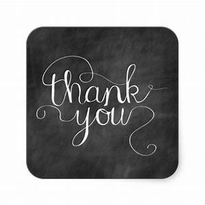 chalkboard thank you calligraphy sticker chalkboards With chalkboard lettering stickers