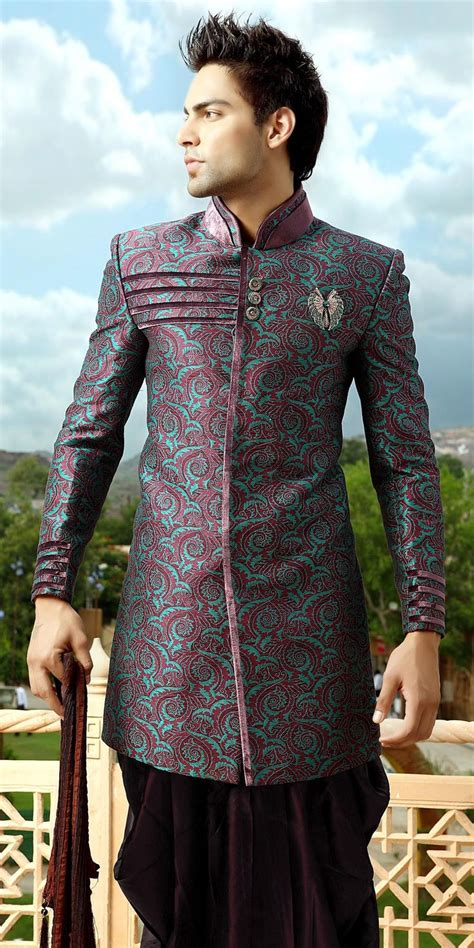 mens wear designer sherwanis bollywood indo western