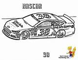 Coloring Nascar Cars Fast Super Race Sprint Yescoloring Printable Sheets Cup Colouring Cool Boys Mega Newest Extraordinary sketch template