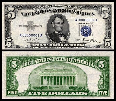 5 Dollar Bill Clip Art