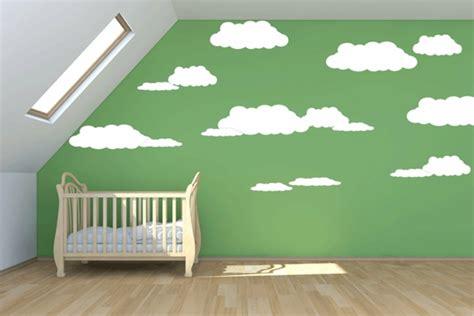 Wandgestaltung Kinderzimmer Kreise by 100 Ideen F 252 R Wandgestaltung In Gr 252 N Archzine Net