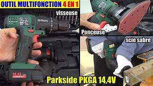 Outil Multifonction Parkside : outil multifonction 4 en 1 lidl parkside pkga 16v ~ Melissatoandfro.com Idées de Décoration