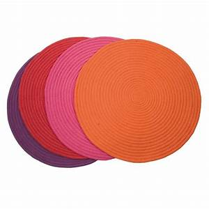 petit tapis rond rouge tapis colore diam 70cm With tapis rond coloré