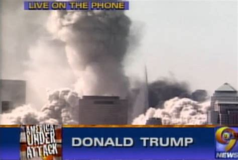 towers twin trump fell after building donald tallest