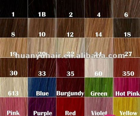 6 Best Images Of Saga Remy Hair Color Chart
