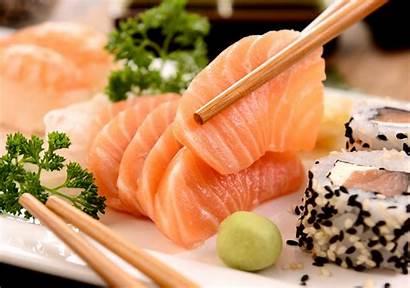 Fish Japanese Sushi Cuisine Sticks Parsley Dog