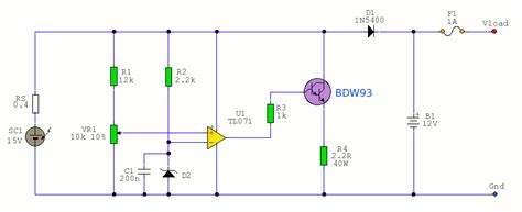 Solar Battery Charger Circuit Diagram World