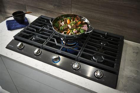 samsung naktg   gas cooktop   sealed burners  btu true dual power burner