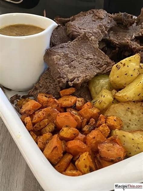 recipe  ninja foodi pot roast