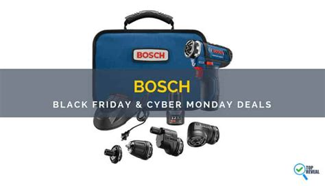 The Best Bosch Black Friday/ Cyber Monday (2017) Sale And