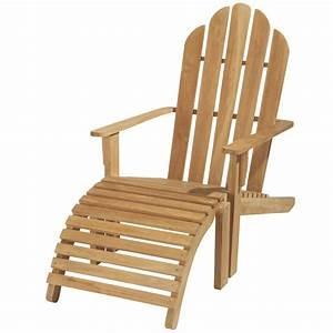 Chaise Jardin Bois : chaise longue de jardin bois teck providence maisons du monde ~ Teatrodelosmanantiales.com Idées de Décoration