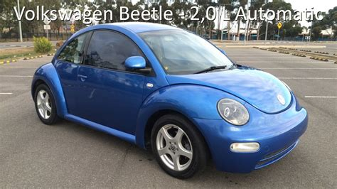 blue volkswagen beetle volkswagen beetle 2 0 litre automatic techno blue youtube
