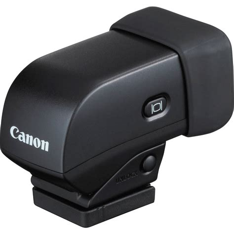 canon evf dc electronic viewfinder  powershot