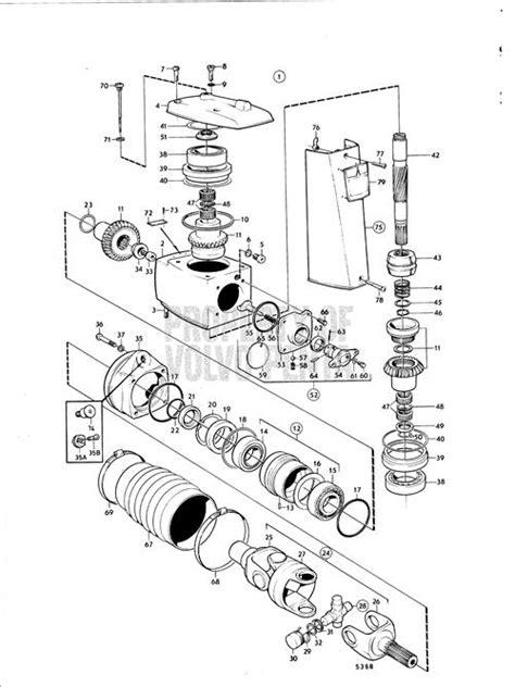 volvo 280 outdrive parts diagram automotive parts diagram